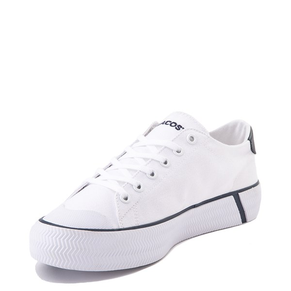 alternate image alternate view Womens Lacoste Gripshot Athletic Shoe - White / NavyALT3