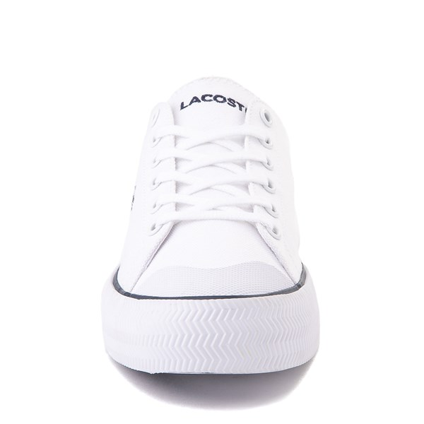 alternate image alternate view Womens Lacoste Gripshot Athletic Shoe - White / NavyALT4