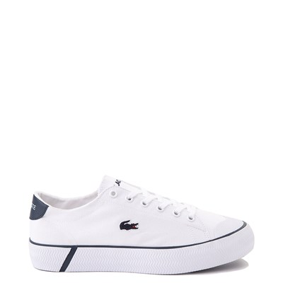 Main view of Womens Lacoste Gripshot Athletic Shoe - White / Navy