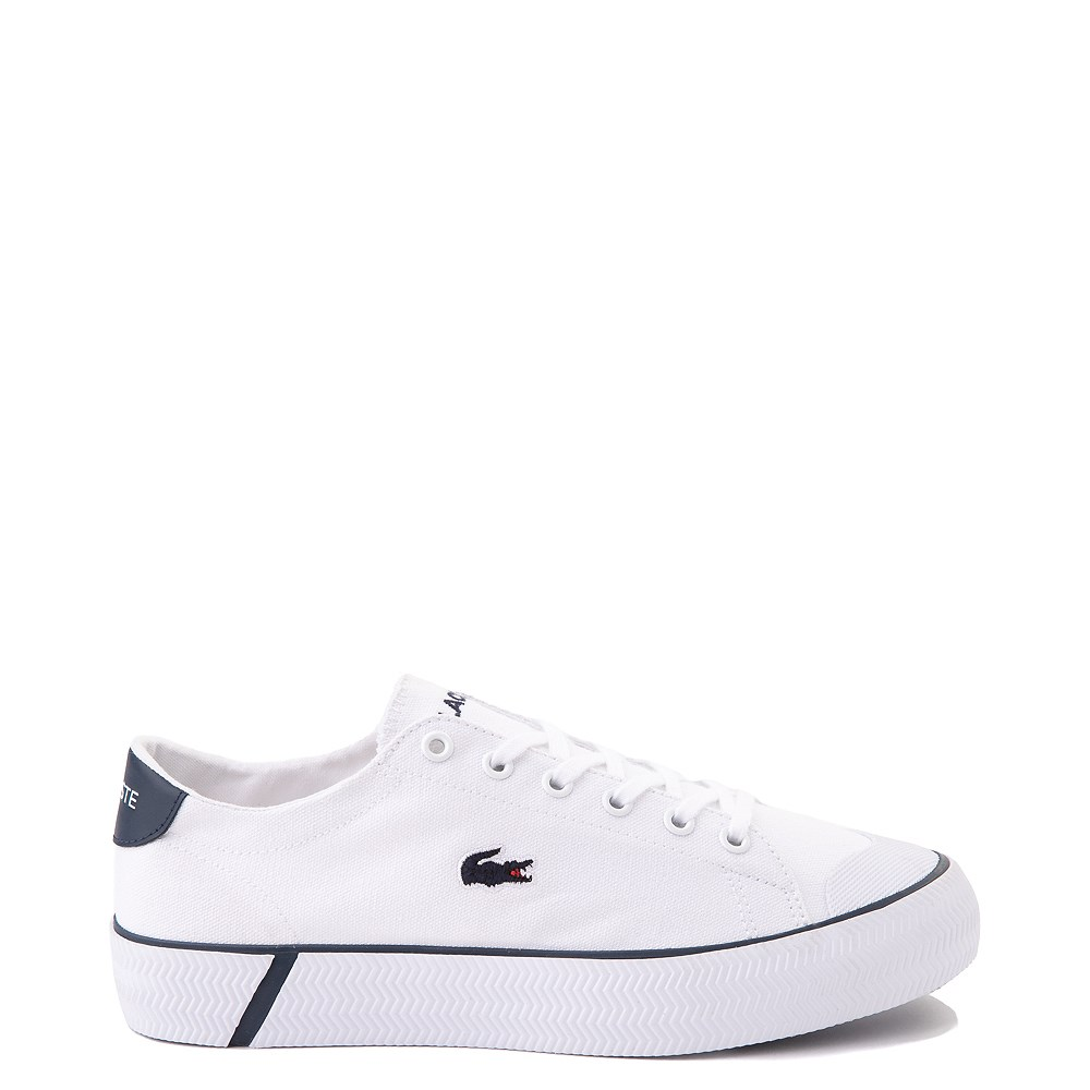 Womens Lacoste Gripshot Athletic Shoe - White / Navy