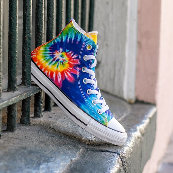 alternate image alternate view Converse Chuck Taylor All Star Hi Sneaker - Tie DyeALT1B