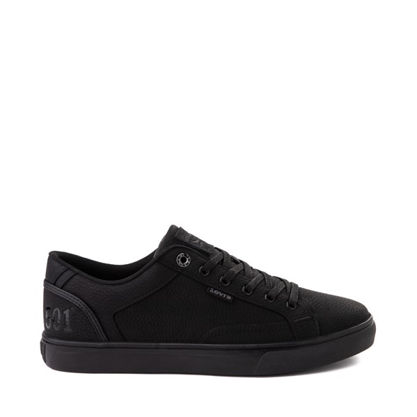 Mens Levi's 501® Jeffrey Casual Shoe - Black Monochrome