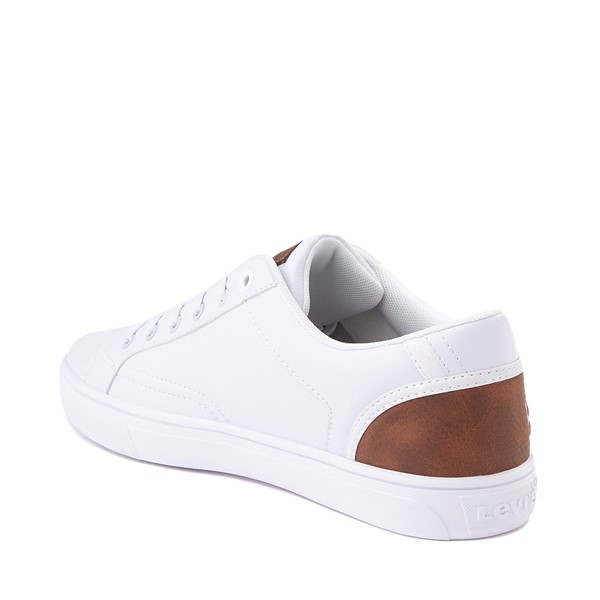 alternate image alternate view Mens Levi's 501® Jeffrey Casual Shoe - WhiteALT1