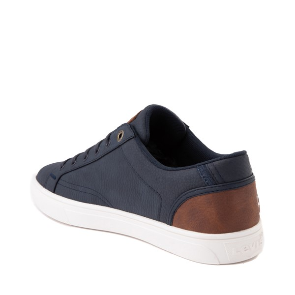 alternate image alternate view Mens Levi's 501® Jeffrey Casual Shoe - NavyALT1