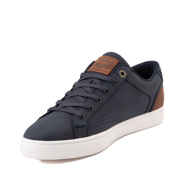 alternate image alternate view Mens Levi's 501® Jeffrey Casual Shoe - NavyALT2