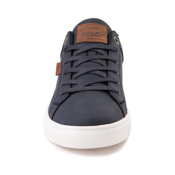 alternate image alternate view Mens Levi's 501® Jeffrey Casual Shoe - NavyALT4