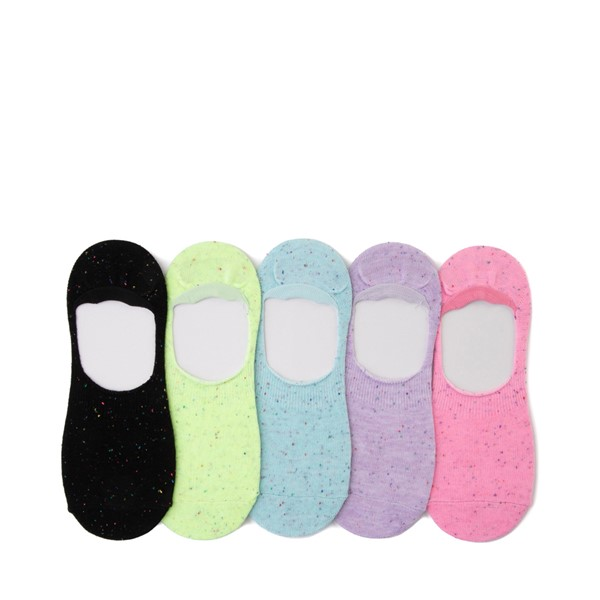 Main view of Womens Speckled Liners 5 Pack - Multi
