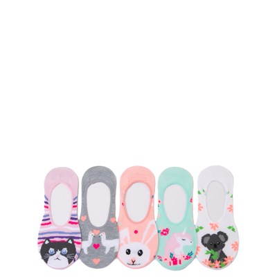Main view of Cutie Critter Liners 5 Pack - Little Kid - Multicolor