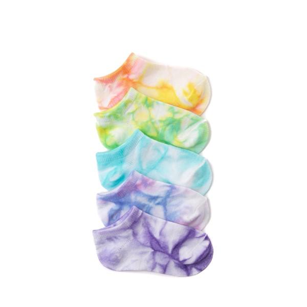 Main view of Tie Dye Footies 5 Pack - Toddler - Multi
