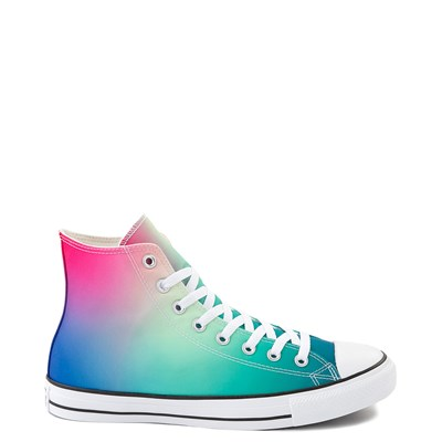 Main view of Converse Chuck Taylor All Star Hi Sneaker - Royal Blue / Pink / Turquoise