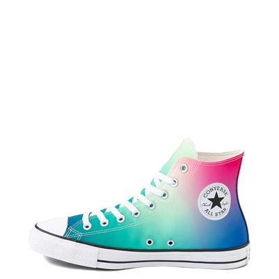 Alternate view of Converse Chuck Taylor All Star Hi Sneaker - Royal Blue / Pink / Turquoise