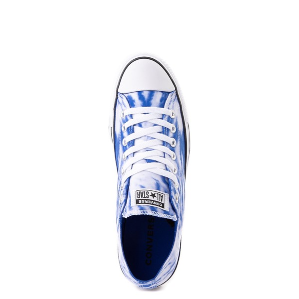 alternate image alternate view Converse Chuck Taylor All Star Lo Sneaker - White / Royal Blue Tie DyeALT2