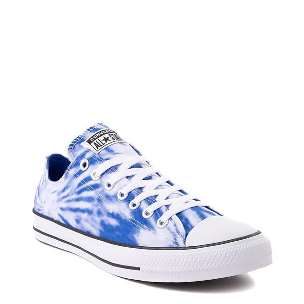 alternate image alternate view Converse Chuck Taylor All Star Lo Sneaker - White / Royal Blue Tie DyeALT5