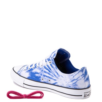 Alternate view of Converse Chuck Taylor All Star Lo Sneaker - White / Royal Blue Tie Dye