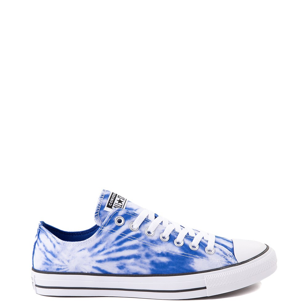 Converse Chuck Taylor All Star Lo Sneaker - White / Royal Blue Tie Dye