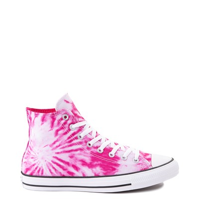 Main view of Converse Chuck Taylor All Star Hi Sneaker - White / Cerise Pink Tie Dye