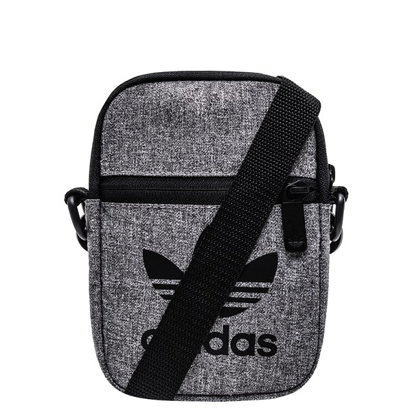 Main view of adidas Originals Crossbody Festival Bag - Grey