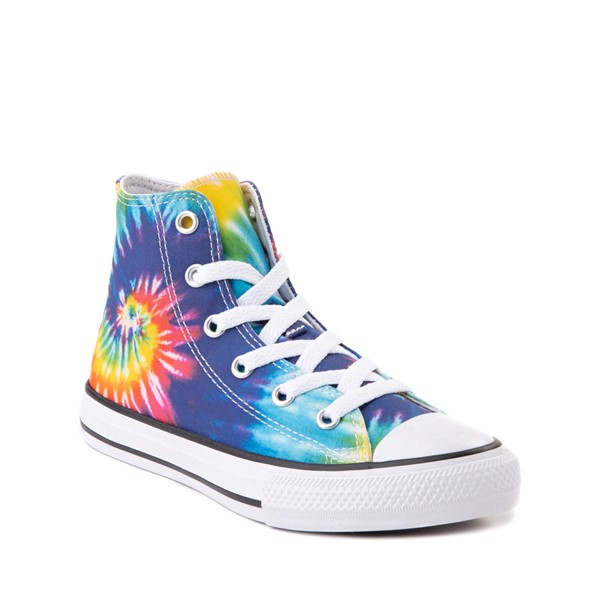 alternate image alternate view Converse Chuck Taylor All Star Hi Sneaker - Little Kid - Tie DyeALT5