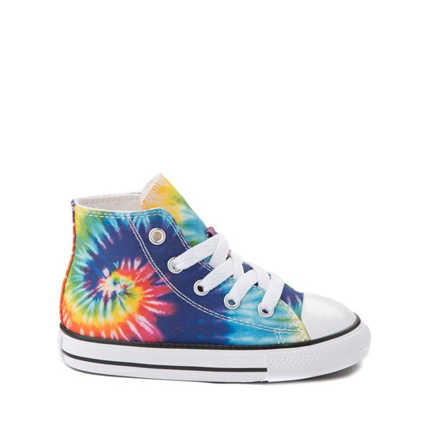 Main view of Converse Chuck Taylor All Star Hi Sneaker - Baby / Toddler - Tie Dye
