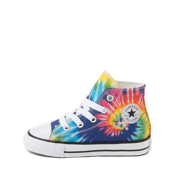 alternate image alternate view Converse Chuck Taylor All Star Hi Sneaker - Baby / Toddler - Tie DyeALT1