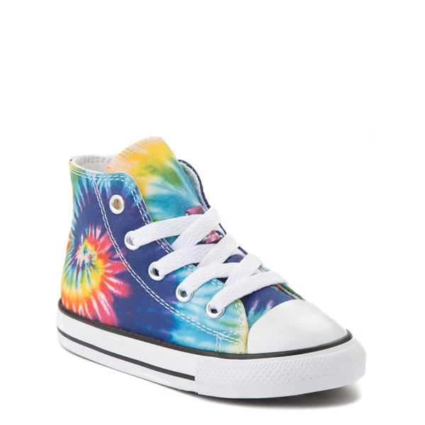 alternate image alternate view Converse Chuck Taylor All Star Hi Sneaker - Baby / Toddler - Tie DyeALT1B