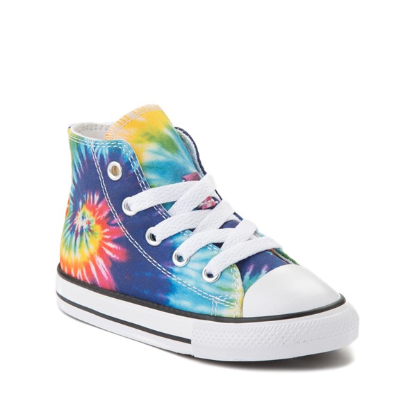 alternate image alternate view Converse Chuck Taylor All Star Hi Sneaker - Baby / Toddler - Tie DyeALT5