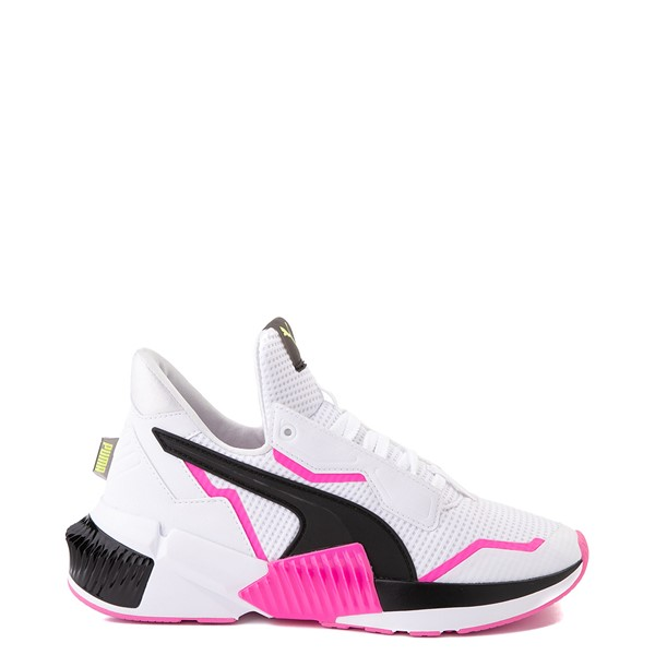 Main view of Womens Puma Provoke XT Athletic Shoe - White / Black / Pink