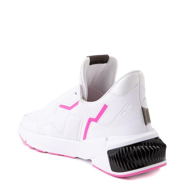 alternate image alternate view Womens Puma Provoke XT Athletic Shoe - White / Black / PinkALT1