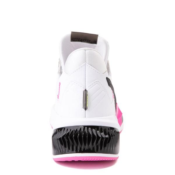 alternate image alternate view Womens Puma Provoke XT Athletic Shoe - White / Black / PinkALT4