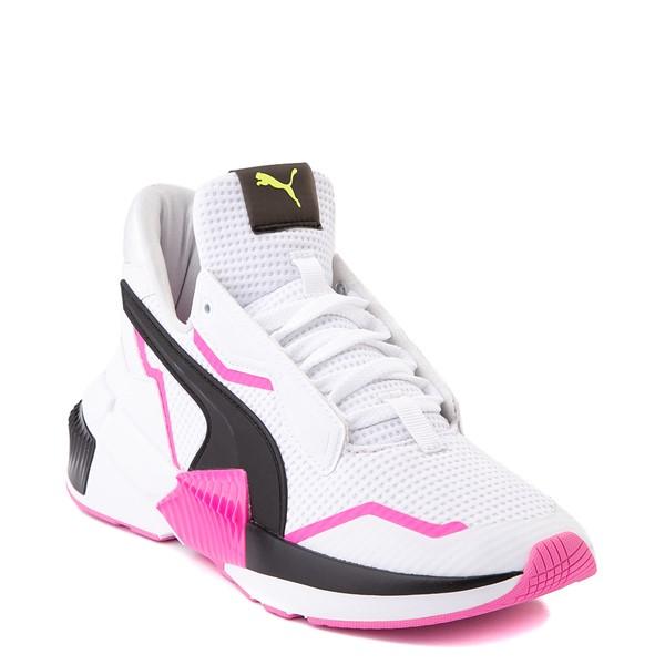 alternate image alternate view Womens Puma Provoke XT Athletic Shoe - White / Black / PinkALT5