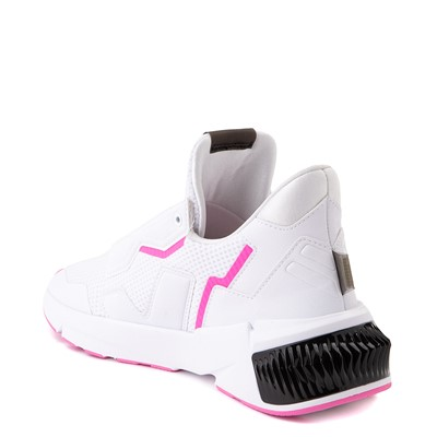 Alternate view of Womens Puma Provoke XT Athletic Shoe - White / Black / Pink
