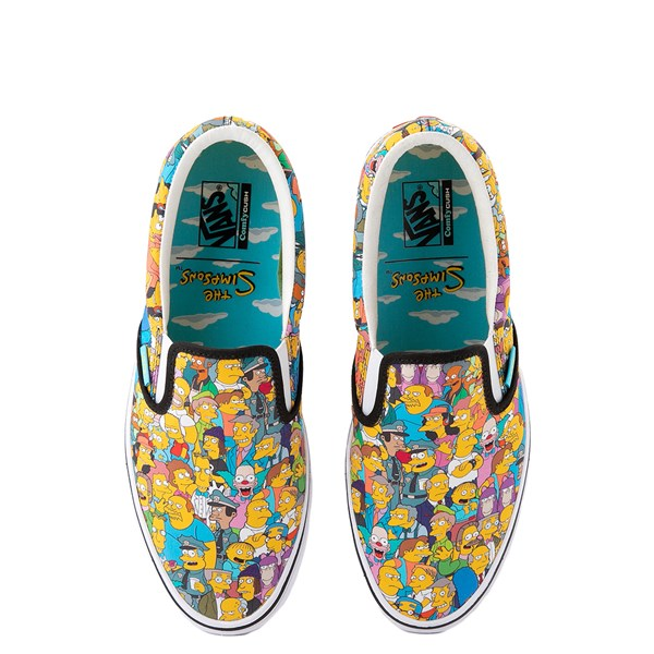 Vans x The Simpsons Slip On ComfyCush® Springfield Skate Shoe - Multicolor