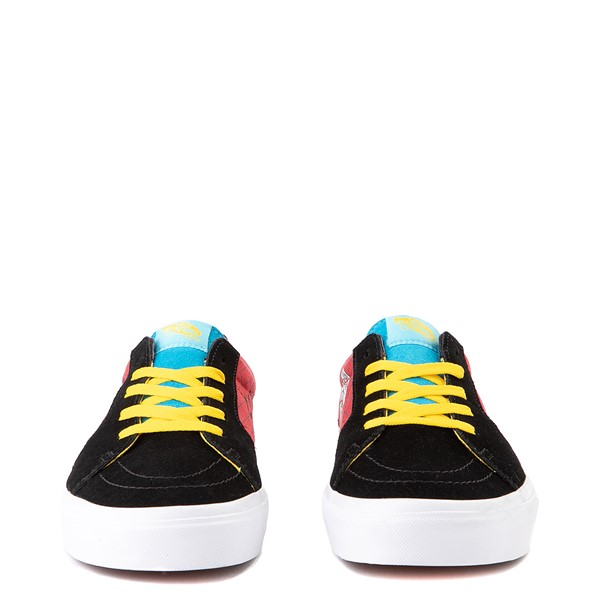 alternate image alternate view Vans x The Simpsons Sk8 Low El Barto Skate Shoe - Black / RedALT4