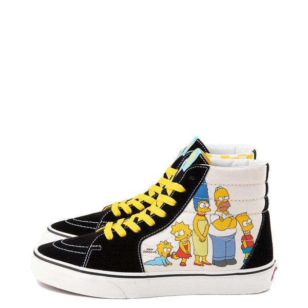 alternate image alternate view Vans x The Simpsons Sk8 Hi Simpsons Family 1987-2020 Skate Shoe - BlackALT1