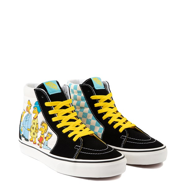 alternate image alternate view Vans x The Simpsons Sk8 Hi Simpsons Family 1987-2020 Skate Shoe - BlackALT1B