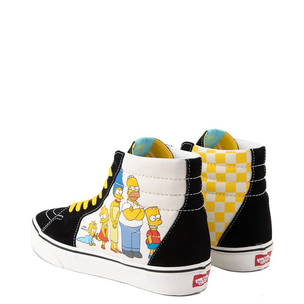 alternate image alternate view Vans x The Simpsons Sk8 Hi Simpsons Family 1987-2020 Skate Shoe - BlackALT2