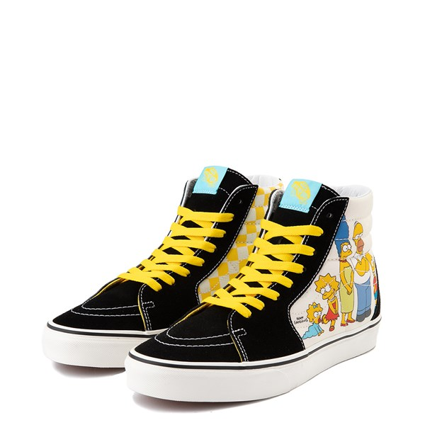 alternate image alternate view Vans x The Simpsons Sk8 Hi Simpsons Family 1987-2020 Skate Shoe - BlackALT3