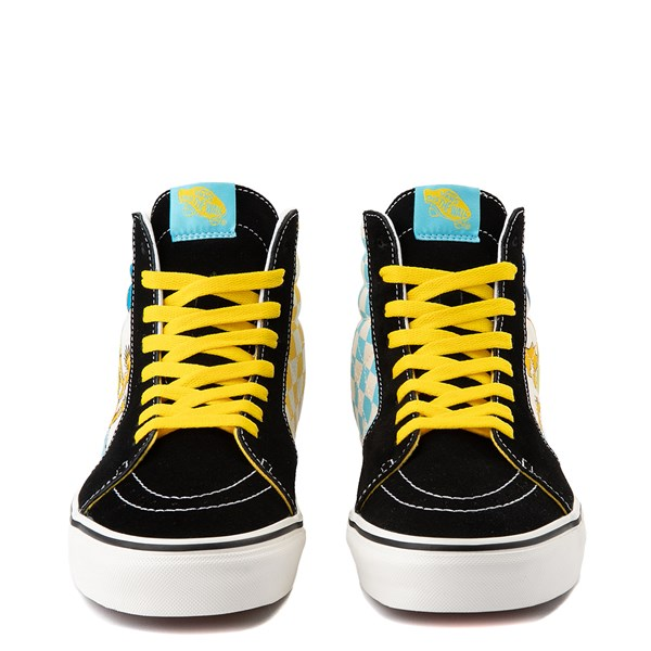 alternate image alternate view Vans x The Simpsons Sk8 Hi Simpsons Family 1987-2020 Skate Shoe - BlackALT4