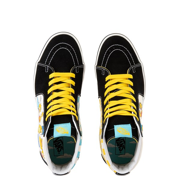alternate image alternate view Vans x The Simpsons Sk8 Hi Simpsons Family 1987-2020 Skate Shoe - BlackALT4B