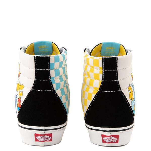 alternate image alternate view Vans x The Simpsons Sk8 Hi Simpsons Family 1987-2020 Skate Shoe - BlackALT6