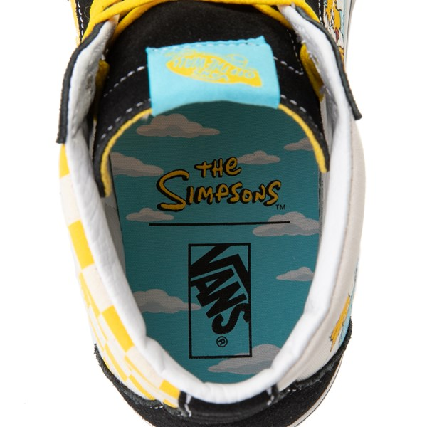 alternate image alternate view Vans x The Simpsons Sk8 Hi Simpsons Family 1987-2020 Skate Shoe - BlackALT7