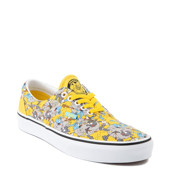 alternate image alternate view Vans x The Simpsons Era Itchy and Scratchy Skate Shoe - YellowALT1