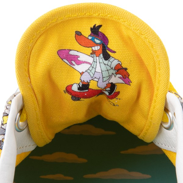 alternate image alternate view Vans x The Simpsons Era Itchy and Scratchy Skate Shoe - YellowALT10
