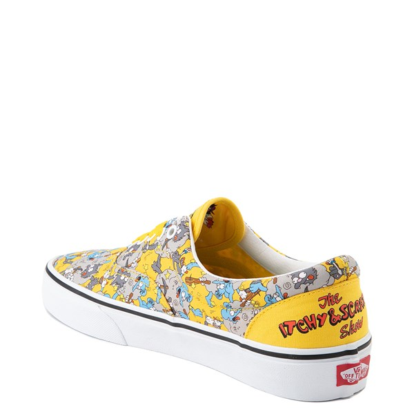 alternate image alternate view Vans x The Simpsons Era Itchy and Scratchy Skate Shoe - YellowALT2