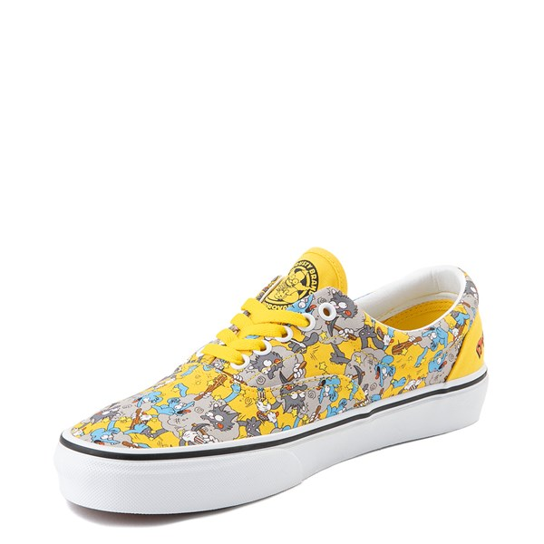 alternate image alternate view Vans x The Simpsons Era Itchy and Scratchy Skate Shoe - YellowALT3