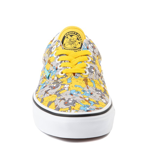 alternate image alternate view Vans x The Simpsons Era Itchy and Scratchy Skate Shoe - YellowALT4