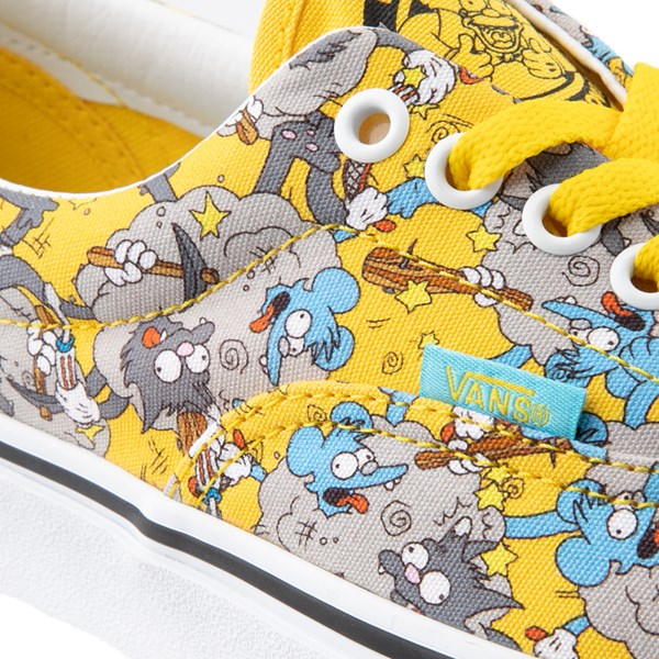 alternate image alternate view Vans x The Simpsons Era Itchy and Scratchy Skate Shoe - YellowALT7