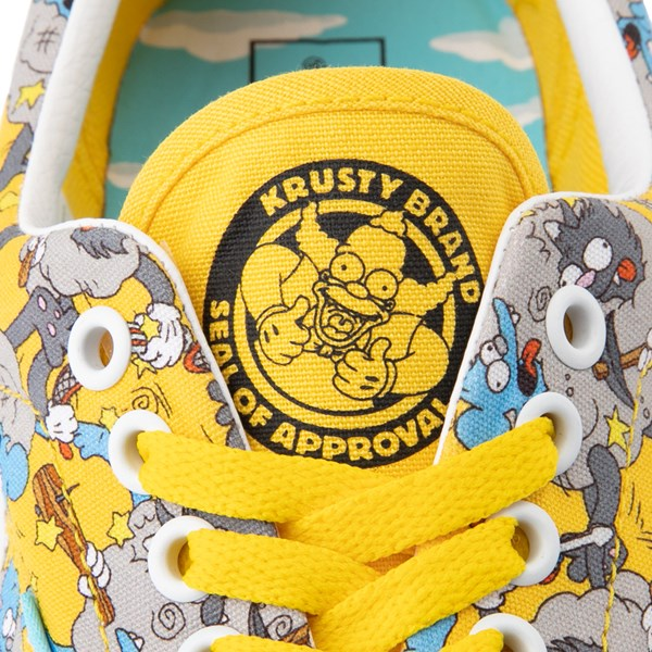 alternate image alternate view Vans x The Simpsons Era Itchy and Scratchy Skate Shoe - YellowALT9