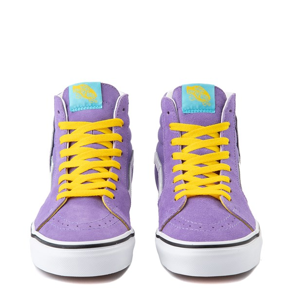 alternate image alternate view Vans x The Simpsons Sk8 Hi Lisa For President Skate Shoe - PurpleALT4