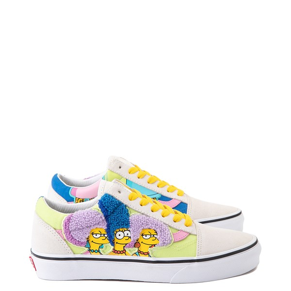 Vans x The Simpsons Old Skool The Bouviers Skate Shoe - Natural